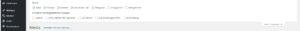 Versteckte Funktionen bei der Menü-Erstellung in WordPress