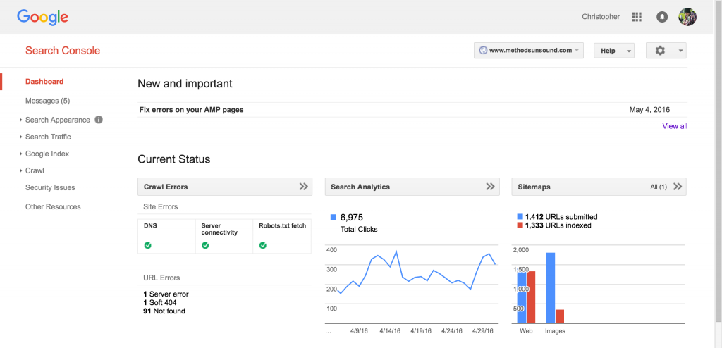 Google_Search_Console_Dashboard